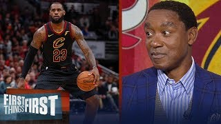 Download Isiah Thomas joins Nick and Cris to talk M.J. vs LeBron, Kyrie's handles | FIRST THINGS FIRST Video