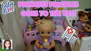 Download Baby Alives Take Princess Prickles To The Vet! Video