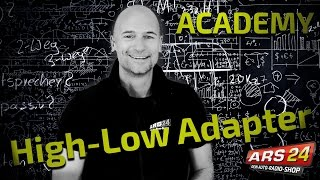 Download HIGH-LOW ADAPTER | Endstufe am Originalradio anschließen | TUTORIAL | ARS24 Video