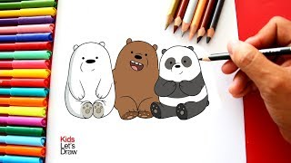 Download Cómo dibujar a Los Osos ESCANDALOSOS | How to draw We Bare Bears Video