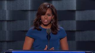 Download First Lady Michelle Obama at DNC 2016 Video