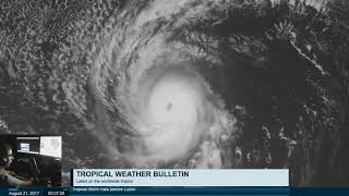 Download Tropical Weather Bulletin Live - August 21, 2017 Video