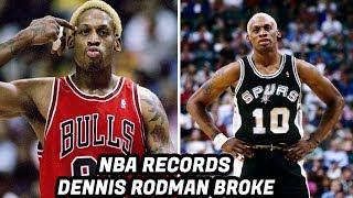Download NBA Records DENNIS RODMAN Has Broken! Rebounding Machine! Video