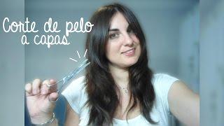 Download 💇 Corte de pelo a capas + Flequillo abierto y desfilado | Aprende a cortarte el pelo tú misma Video