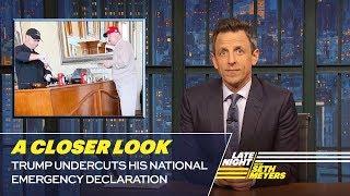 Download Trump Undercuts His National Emergency Declaration: A Closer Look Video