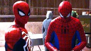 Download Spider-Man Meets Fake Spider Man & Mysterio (Free Roam)   Spider Man Ps4 Walkthrough Part 10 Scene Video