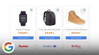 Download Achetez les produits de marchands reconnus directement sur Google - Google France Video