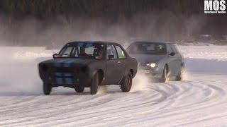 Download MOS besöker iskörningen i Kussjö Video