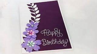 Download Beautiful Handmade Birthday Card Idea Video