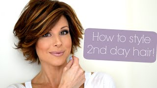 Download Styling Tips For Second & Third Day Hair Video