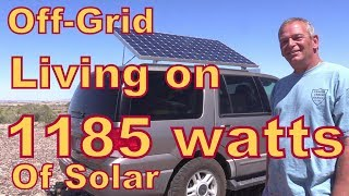 Download Meet Jim Who Lives off-Grid with 1185 Watts of Solar Video