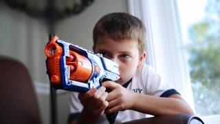 Download Nerf War: Siblings Vs Siblings Video