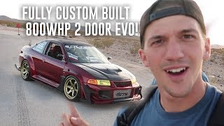 Download FULLY CUSTOM BUILT 800WHP TWO DOOR EVO WALKAROUND! Video