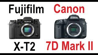 Download FUJIFILM X-T2 vs Canon 7D Mark II Video