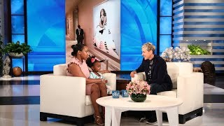 Download Ellen Recreates Viral Photo with Young Michelle Obama Fan Video