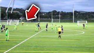 Download AMAZING Midfield Soccer Goal Video