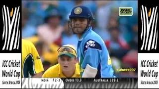 Download World cup 2003 final India vs Australia »» Vintage SEHWAG - 82 off 81 balls Video