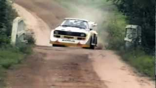 Download INSANE Audi Quattro Sport S1 1000 Lakes Group B Rally (Pure Engine Sound) Video