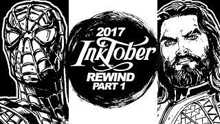 Download JUSTICE LEAGUE! AVENGERS! PORGS! - INKTOBER 2017 REWIND! Part 1 of 2 Video