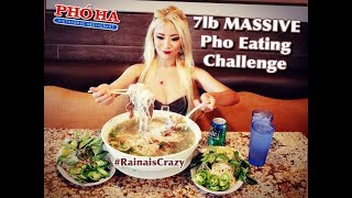 Download 7lb Pho Eating Challenge | Pho Ha #7 in Riverside | RainaisCrazy | Oliver and Pearl's Engagement Video
