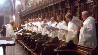 Download Hymnus VENI CREATOR SPIRITUS, Visione spartito, due versioni, SCHOLA GREGORIANA MEDIOLANENSIS, Dir. Giovanni Vianini, Milano, Italia Video
