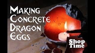 Download Making Concrete Dragon Eggs Video
