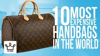 Download Top 10 Most Expensive Handbags In The World Video