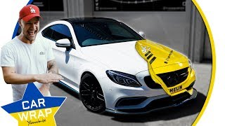 Download Paul Wallace's Mercedes C63 AMG wrapped in Michelin Rally Car Decal for Goodwood FOS Video
