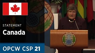 Download Canada Statement by H.E. Ms. Sabine Nölke at CSP21 Video