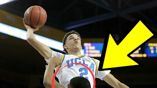 Download LONZO BALL GETS DUNKED ON BY ASIAN FILIPINO UCLA STUDENT! Video
