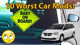 Download 10 Worst Car Mods!! Video