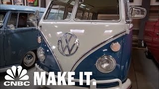 Download Jay Leno Admires Comedian Gabriel Iglesias's VW Collection   CNBC Make It. Video