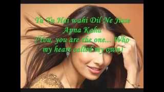 Download DJ Aqeel- Tu Tu Hai Wahi/You, You Are The One W/Lyrics Video