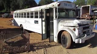 Download Scrapyard found Chevy School bus RUNS! Video