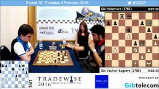 Download Maxime VL vs Nakamura Final Armageddon Blitz Chess - Gibraltar Masters Chess 2016 Video