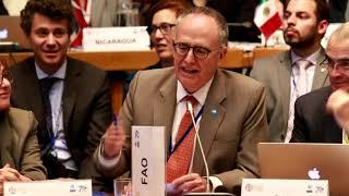 Download FAO, FIDA, IICA y PMA se comprometieron a impulsar los ODS en las sociedades rurales de ALC Video