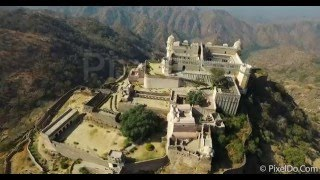 Download First Ever Aerial Video of Kumbhalgarh Fort - Rajasthan Video