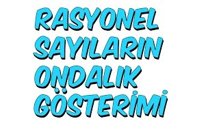 Download 7dk'da RASYONEL SAYILARIN ONDALIK GÖSTERİMİ | 7.Sınıf Video