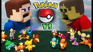 Download Pokemon Mega Bloks Battle Series 1 vs 2 construx Mattel Toys Playset Lego Fight Puppet Unboxing Video
