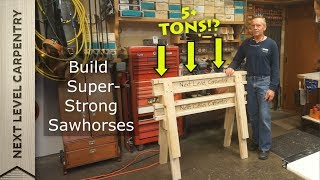 Download Build These Super Strong Sawhorses Video