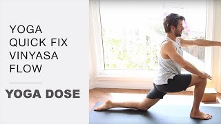 Download 15 Minute Quick Fix Vinyasa Flow Video