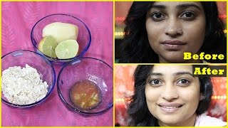 Download NATURAL Facial at HOME in 10 Minutes for Instant Glowing, BRIGHT, Fairer, Fresh Looking Skin : DIY Video