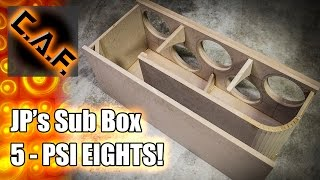Download HOW TO BUILD - THELIFEOFPRICE Subwoofer Box – CarAudioFabrication Video