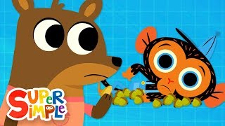 Download Ms. Squirrel's Nutty Problem | Mr. Monkey, Monkey Mechanic | Cartoons For Kids Video