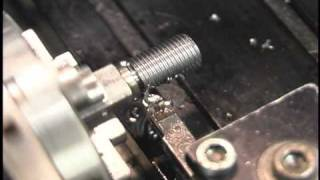 Download Tryally making threads with Sherline lathe Video