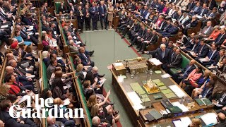 Download Brexit: chants of 'shame' as suspension of parliament descends into chaos – watch live Video