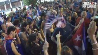 Download Segundo día: Cubanos salen a calles de Miami a festejar la muerte de Fidel Castro Video
