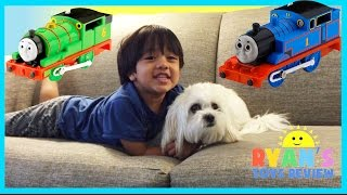 Download Thomas and Friends Toy Trains around the Hotel with Disney Cars Video