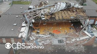Download Hurricane Michael obliterates Panama City high school Video
