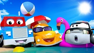 Download Car City on Holidays - SUMMER COMPILATION - Summer Cartoons for children with Carl, Tom & cie ! Video